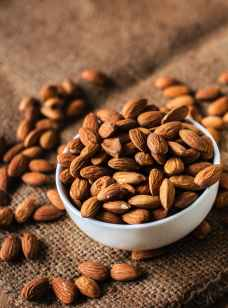almond nut organic unshelled